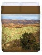 Rainbow Canyon Duvet Cover