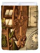 Ramellis Reading Wheel Duvet Cover