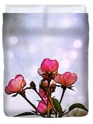 Reaching For The Light Duvet Cover by Judi Bagwell