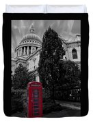 Red Telephone Box Duvet Cover