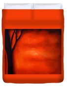 Red Wall Duvet Cover