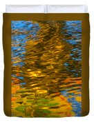 Reflection In Water. Duvet Cover