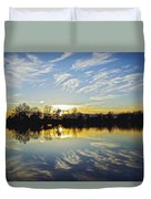 Reflections Duvet Cover by Brian Wallace