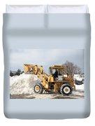 Removing Snow Duvet Cover
