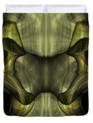 Reptilian - Green Duvet Cover