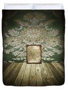 Retro Room Interior Duvet Cover