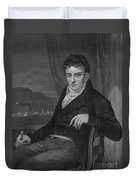 Robert Fulton, American Engineer Duvet Cover
