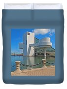 Rock And Roll Hall Of Fame Duvet Cover