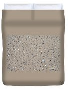 Rocks Sorted By The Wind Duvet Cover