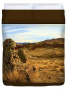 Rocky Painted Hills Duvet Cover