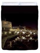 Rome Ponte San Angelo Duvet Cover
