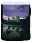 Ross Castle, Killarney, Co Kerry Duvet Cover