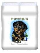 Rottweiler Duvet Cover