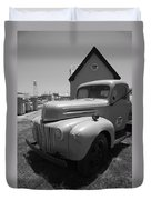 Route 66 Truck And Gas Station Duvet Cover