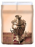 Russian Samovar Duvet Cover