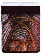 Saint Chapelle Duvet Cover