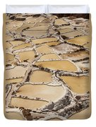 Salt Spring And Incan Duvet Cover