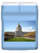 San Francisco City Hall - Beaux Arts At Its Best Duvet Cover