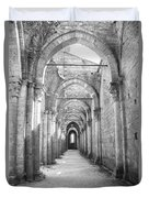 San Galgano Abbey Duvet Cover