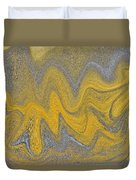 Sand Abstract Duvet Cover