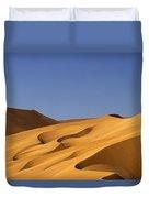 Sand Dune Against Clear Sky Duvet Cover
