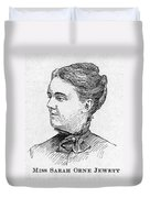 Sarah Orne Jewett Duvet Cover