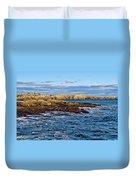 Schoodic Point Acadia National Park Duvet Cover