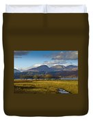 Scottish Landscape View Duvet Cover