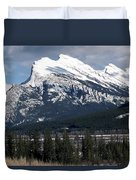 Sharp Rundle Peaks Duvet Cover