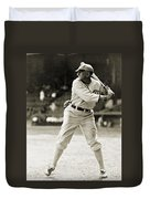 Shoeless Joe Jackson  (1889-1991) Duvet Cover