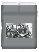 Slaves In Union Camp Duvet Cover