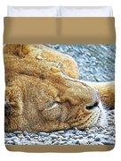 Sleeping Giant Duvet Cover