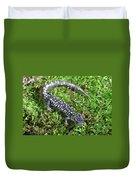 Slimy Salamander Duvet Cover