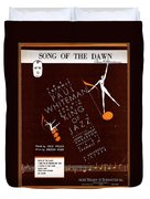 Song Of The Dawn Duvet Cover