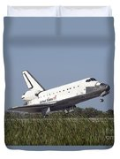 Space Shuttle Atlantis Touches Duvet Cover