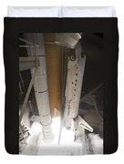 Space Shuttle Discovery Lifts Duvet Cover