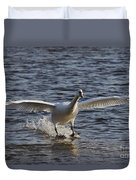 Splashdown - Water Skiing Duvet Cover