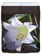 Spring Lily Duvet Cover