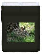 Spring Time Rabbit Duvet Cover