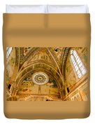 St Francis Basilica   Assisi Italy Duvet Cover