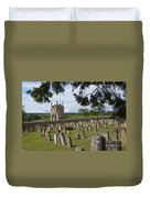 St James Church Graveyard Duvet Cover