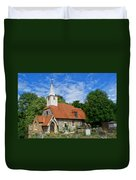 St Laurence Church Cowley Middlesex Duvet Cover
