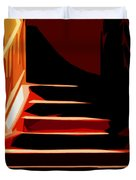 Stairs At Palace Avenue Duvet Cover
