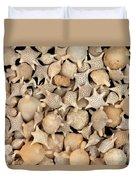 Star Sand Foraminiferans Duvet Cover