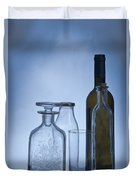 Still Life Of Bottles  Duvet Cover