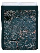 Stoneface At Hossa With Stone Age Paintings Duvet Cover