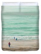 Summer Vacation Duvet Cover