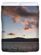 Sunset Over Lake Tahoe Duvet Cover