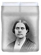 Susan B. Anthony, American Civil Rights Duvet Cover