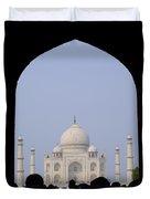 Taj Mahal, Agra India Duvet Cover